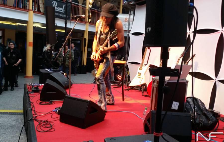 Ryan Roxie on Stage