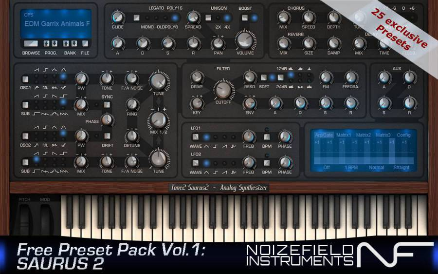 Preset Pack Vol1: Saurus2