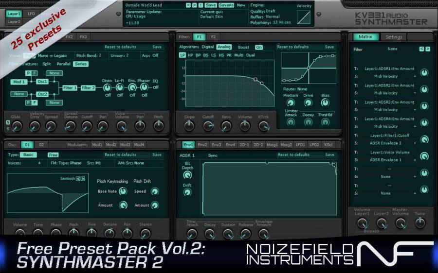 SynthMaster Preset Pack