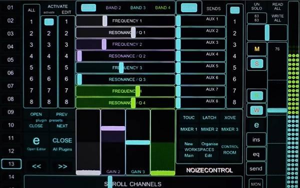 Noizekontrol free TouchOsc Template