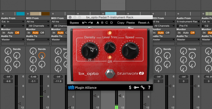 bx_opto Pedal from Plugin Alliance