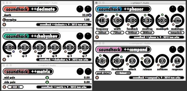 Soundhack Freesound Bundle