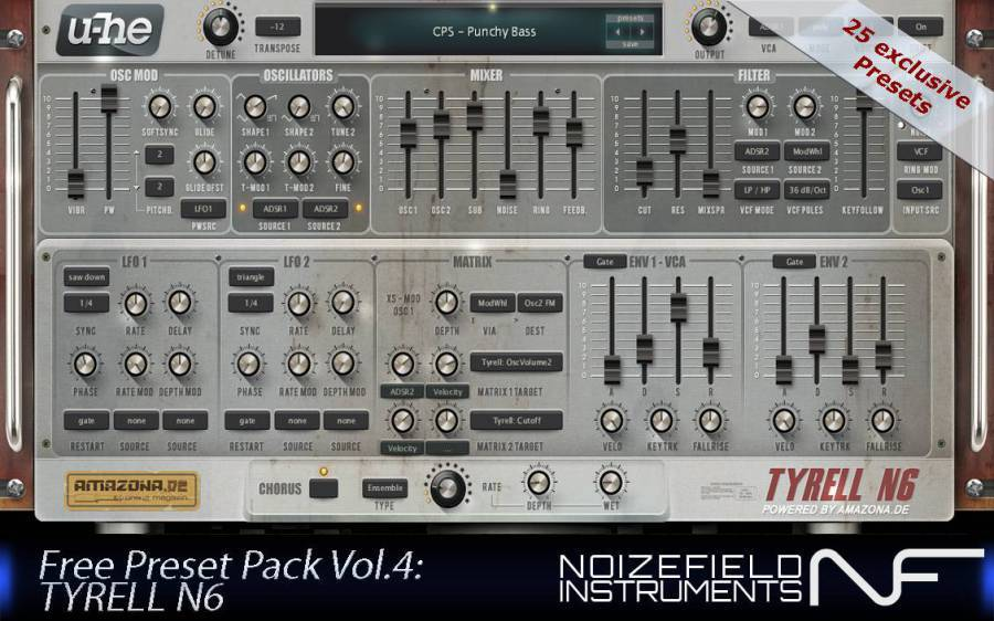 Tyrell Presets by Noizefield