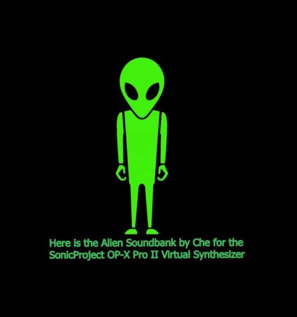 Alien - OP-X Pro II - Logo by CHE