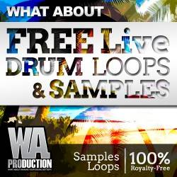 WhatAboutFreeLiveDrumLoopsSamplesCover-250x250