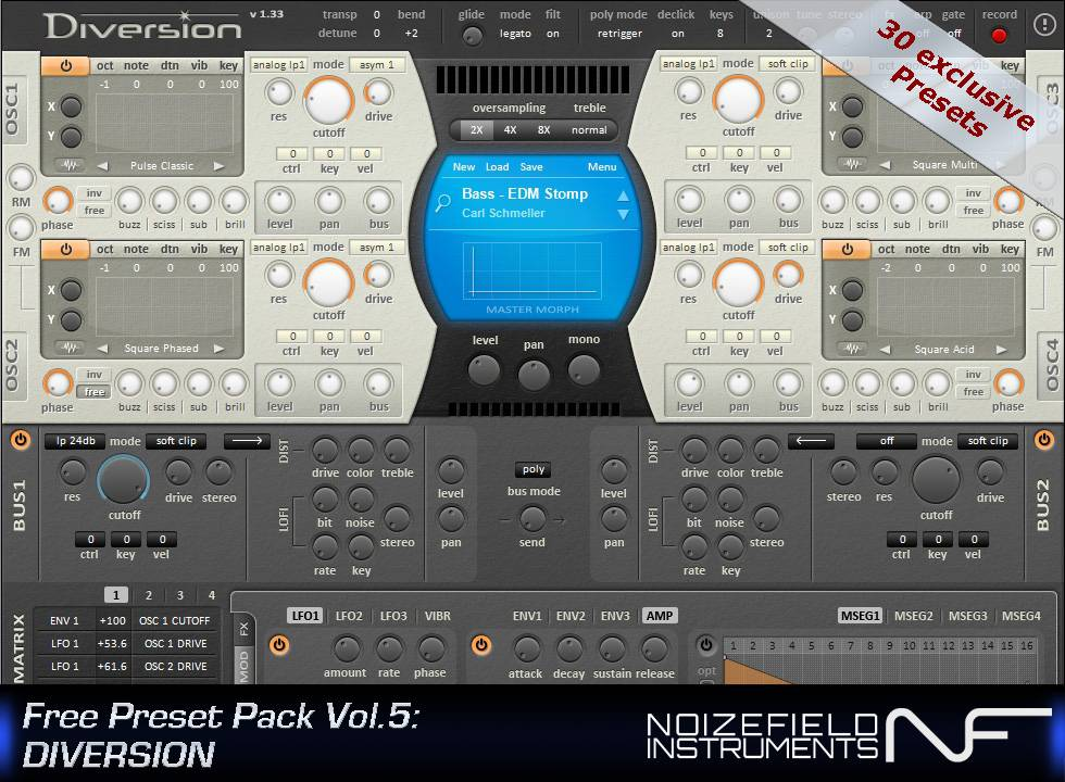 Diversion Presets by Noizefield