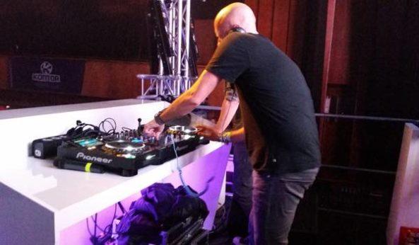 Markus on Stage