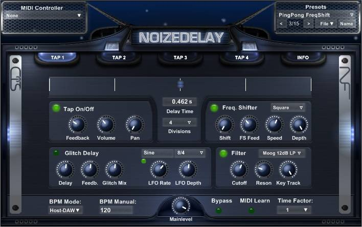 NOIZEDELAY plugin vst gratuit