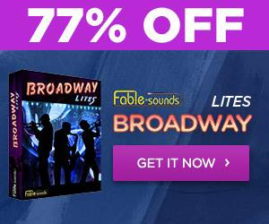 Broadway Lites by Fable Sounds