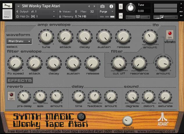 Wonky Tape Atari