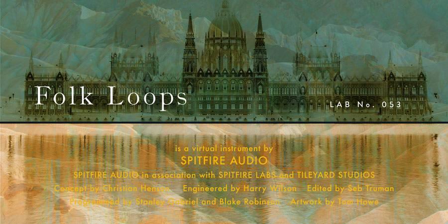 Spitfire Audio released Spitfire Labs Folk Loops