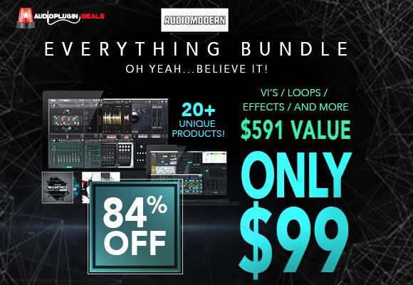 Audio Modern Everything Bundle