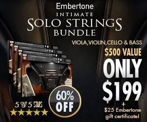 Embertone – Intimate Solo Strings Bundle