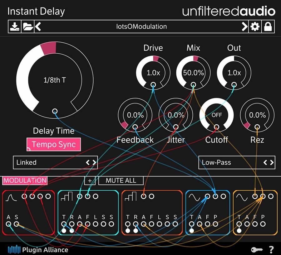 PLUGIN ALLIANCE - Unfiltered Audio announced Instant Delay