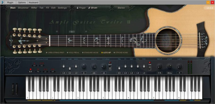 Ample Sound released Ample Guitar Twelve II
