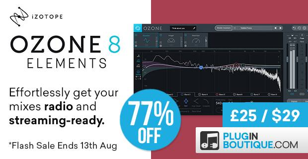 izotope ozone 8 elements flash sale. Black Bedroom Furniture Sets. Home Design Ideas