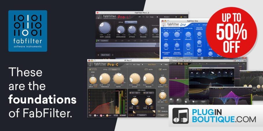 FabFilter Black Friday Sale