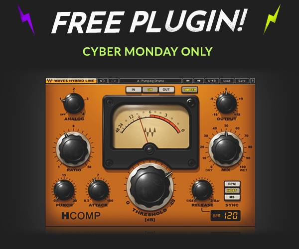 Waves H-Comp plugin for Free