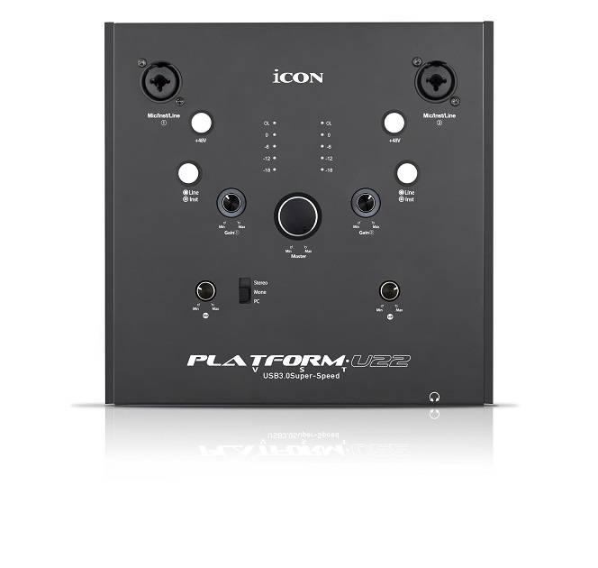 icon Pro Audio Platform-U22-VST