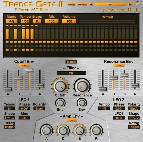trance gate effect vst