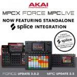 Splice Sounds released Akai Professional  Splice integration in Force, MPC Live & MPC X_5cacb9b81ac3e.jpeg