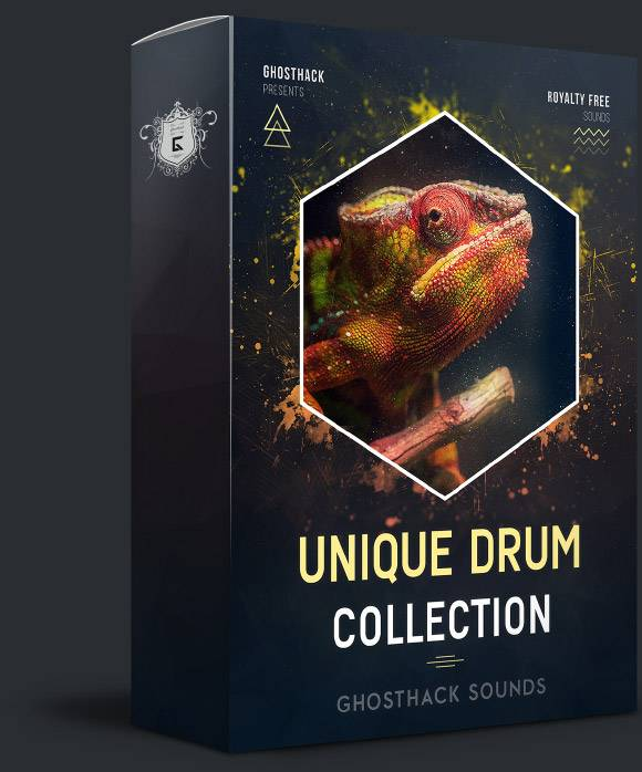 Unique Drum Collection - 300 samples for free by Ghosthack