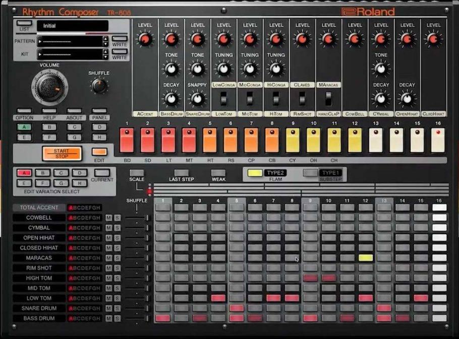 Roland TR-808 plugin