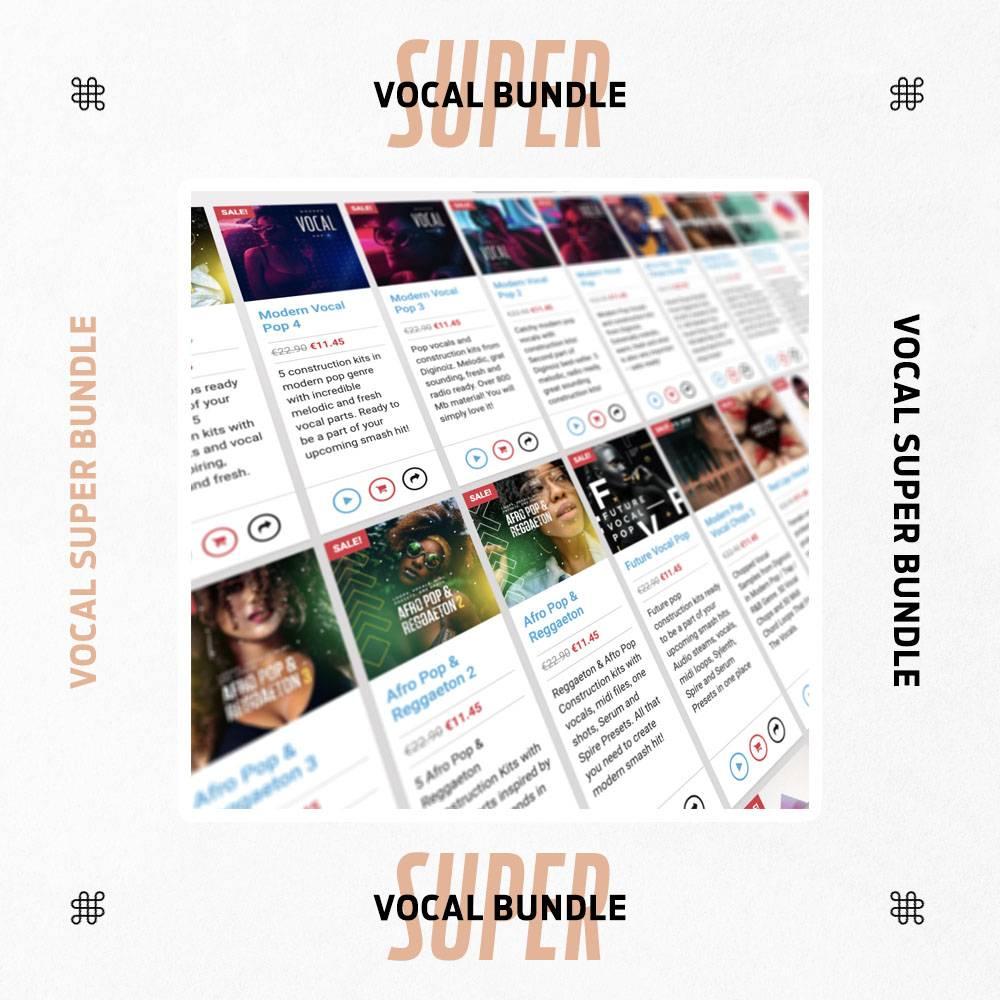 Deal Vocal Super Bundle By Diginoiz 95 Off